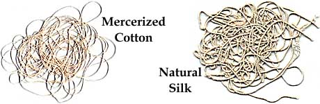 Mercerized cotton