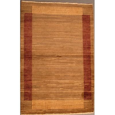 """Gabbeh Wool Rug(3' 4"""" x 5' )"""