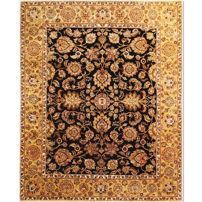 "KASHAN Wool Rug BK6072(8' 1"" x 9' 10"" )"