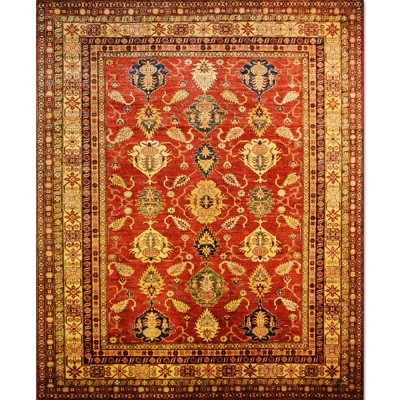 "KAZAK Wool Rug XL6055(8' 3"" x 10' 1"" )"