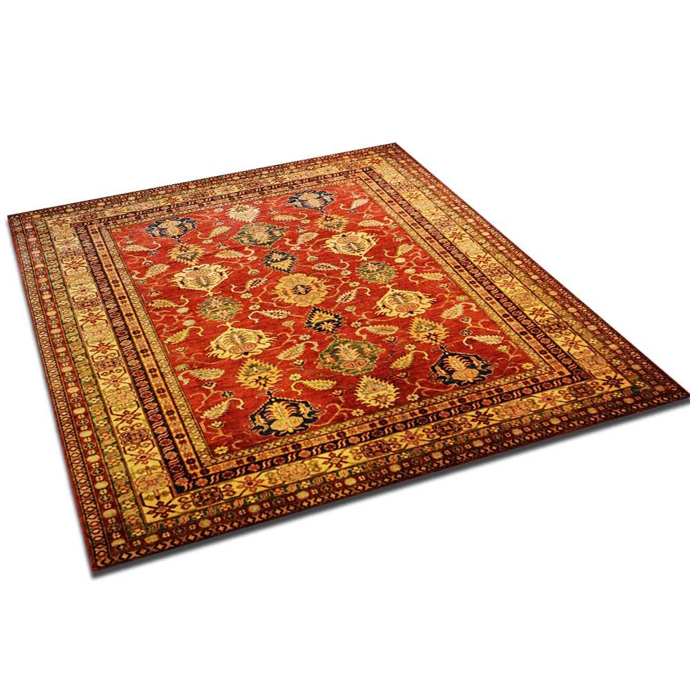Size 08x10 Kazak Wool Rug Pakistan