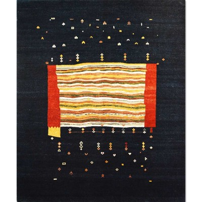 """GABBEH Wool Rug(8' 2"""" x 9' 11"""")"""