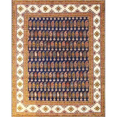 """KAZAK Wool Rug BK6396(7' 8"""" x 9' 8"""" )"""