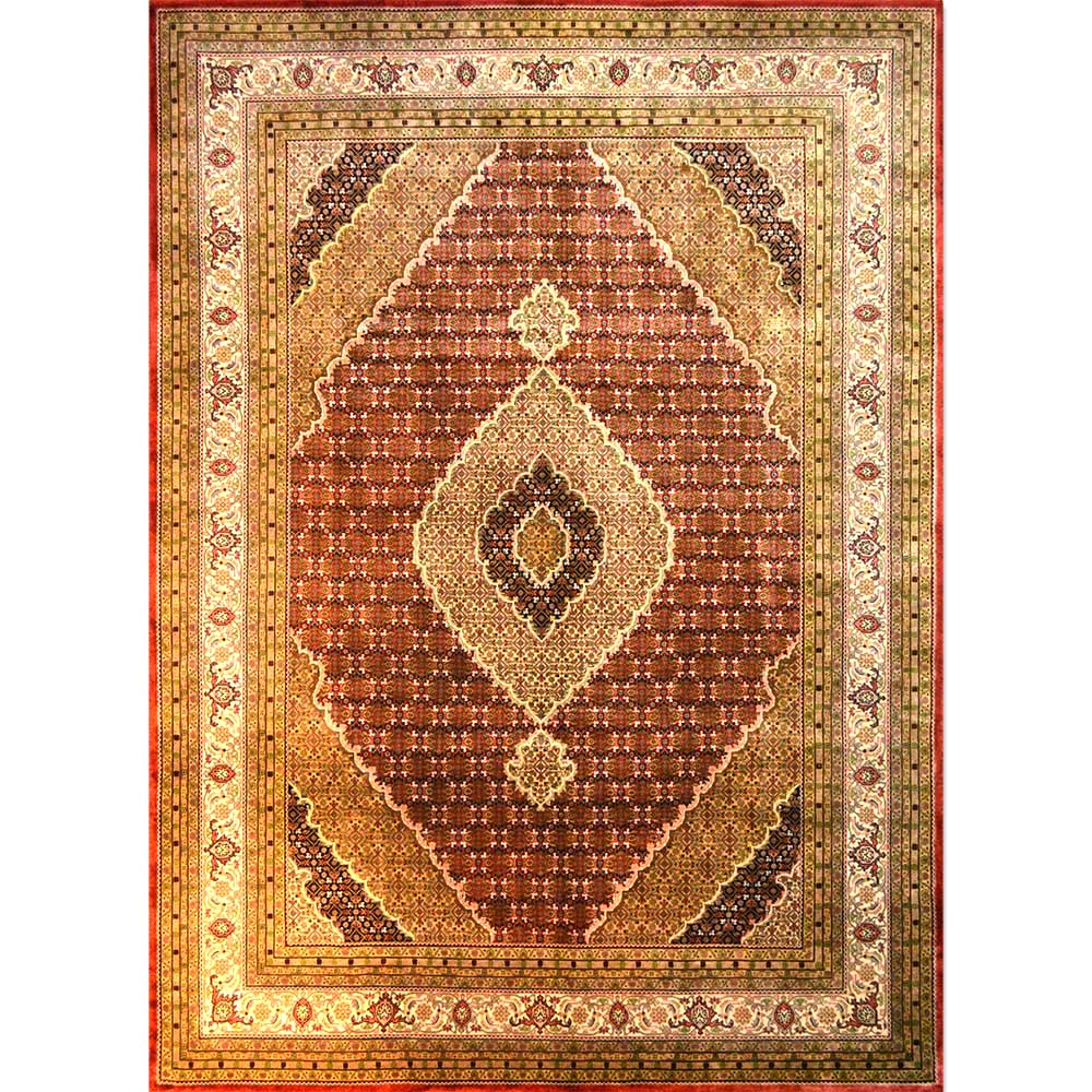 Size 09x11 Bijar Wool Rug India