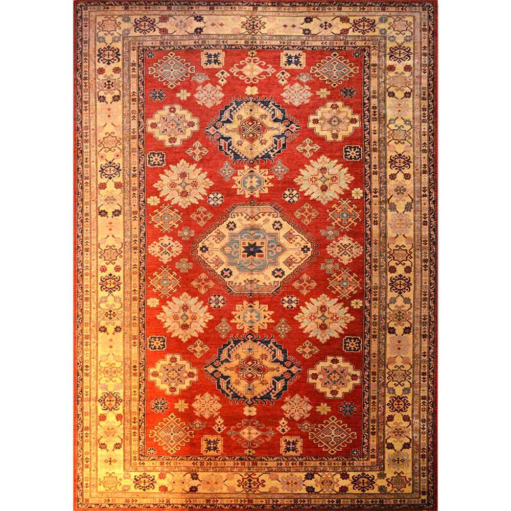 Size 09x10 Super Kazak Wool Rug Pakistan