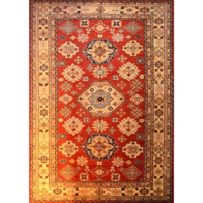 "SUPER KAZAK Wool Rug XS7002 (8' 10"" x 12' 7"" )"
