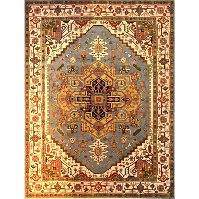 "HEREZ Wool Rug XS7003(9' x 12' 2"")"