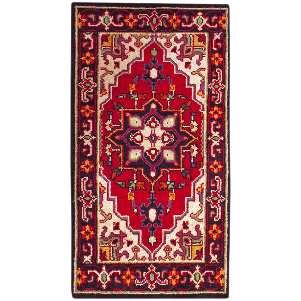 Size 2 X 4 Serapi Wool Rug From India