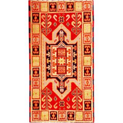Kazak Wool Rug(2' x 4' )
