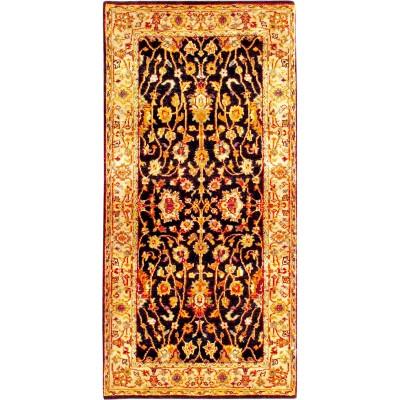 "Kashan Wool Rug(2' 1"" x 4' 2"")"