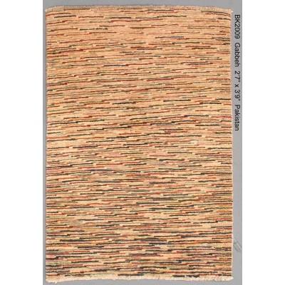 """Gabbeh  Wool Rug(2' 7"""" x 3' 9"""" )"""