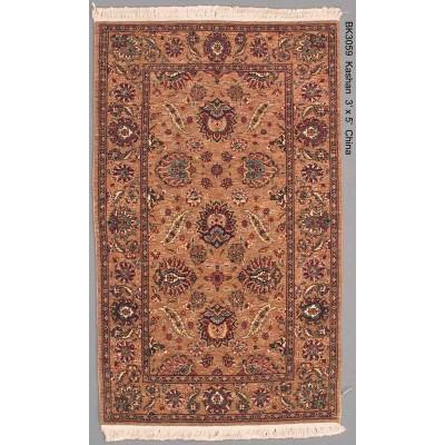 Kashan Wool Rug (3' x 5')
