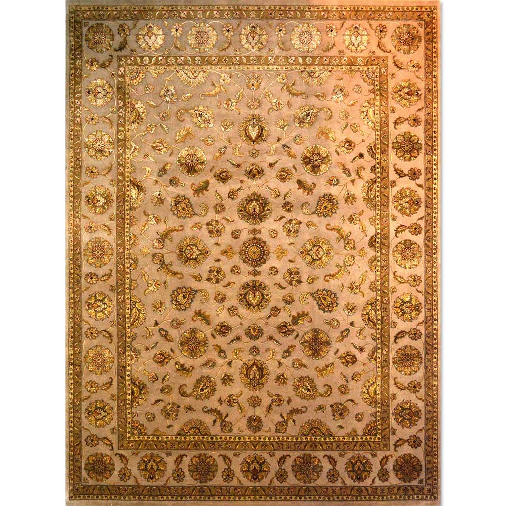 Size 09X10 DHARMA Wool Rug INDIA