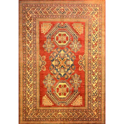 "KAZAK Wool Rug MJ5097 (6' 9"" x 9' 9"" )"