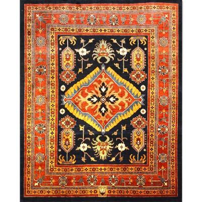 "BIJAR Wool Rug XL6063 (7' 9"" x 9' 6"" )"