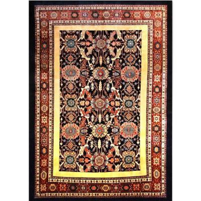 """BAKHTIARI Wool Rug XL7044 (8' 6"""" x 11' 10"""")"""