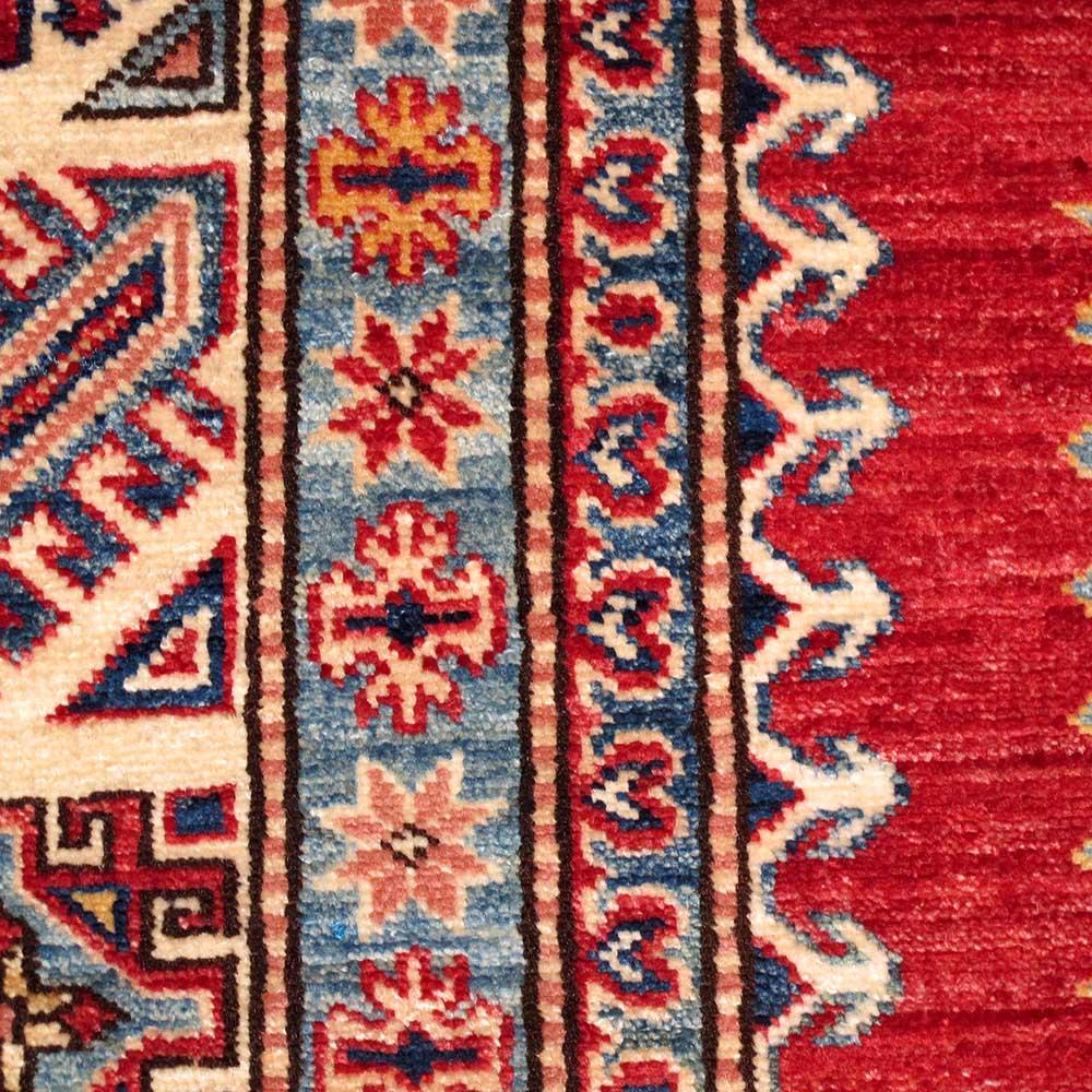 SUPER KAZAK Wool Rug XS6003(8u0027 X 10u0027 7u201d)