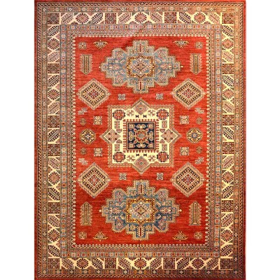 "SUPER KAZAK Wool Rug XS6003(8' x 10' 7"")"