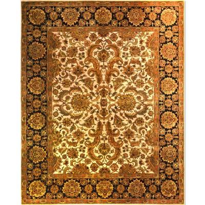 "KASHAN Wool Rug BK6031(8' 1"" x 10' 1"")"