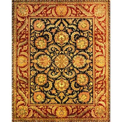 "KASHAN Wool Rug BK6070 (8'1"" x 10'1"" )"
