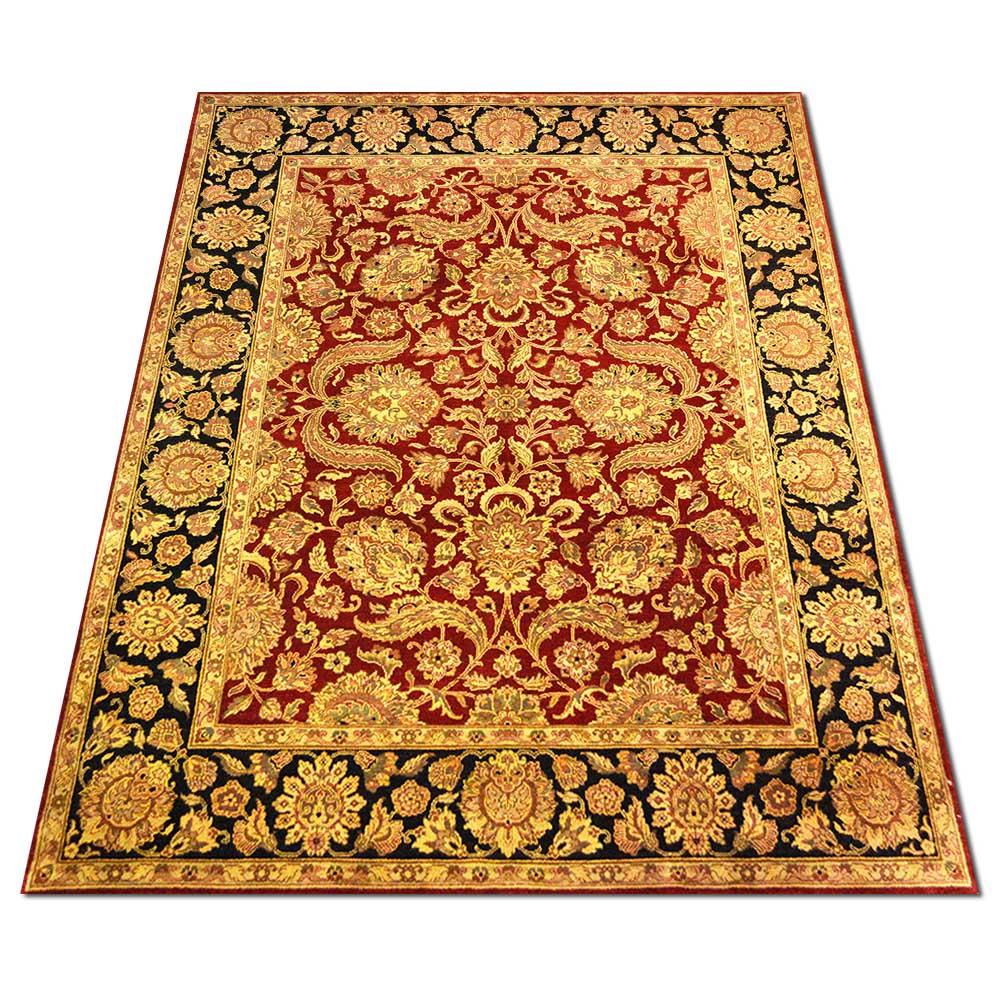 Size 08x10 Kashan Wool Rug India