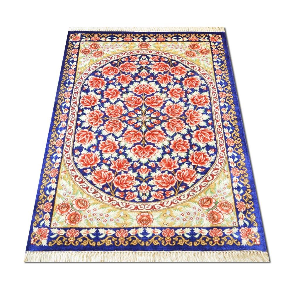 Size 2 X 2 8 Quot Ghoum Silk Rug Iran
