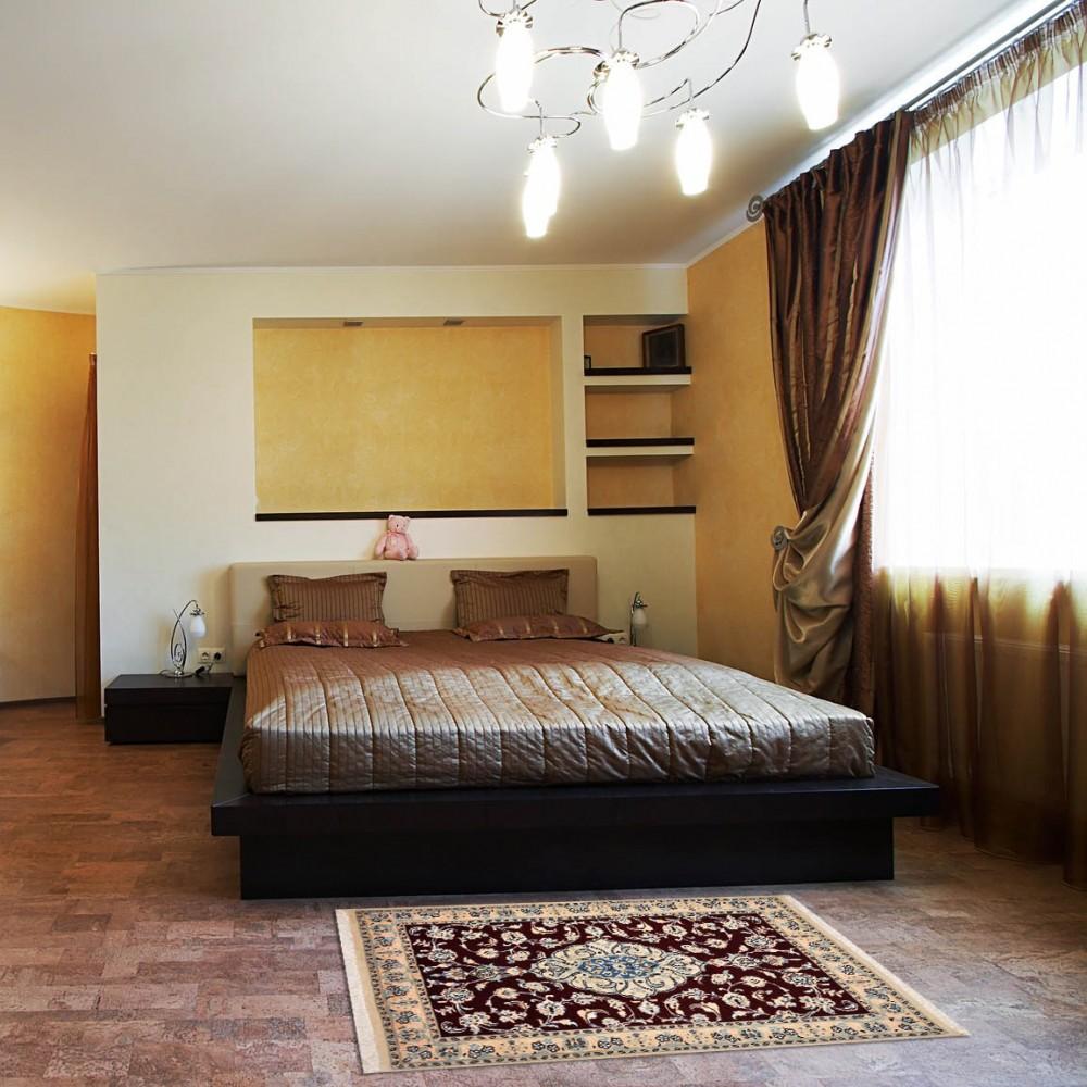 Size 026x4 Nain Wool Rug Iran