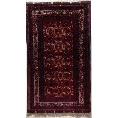 """Afghan Wool rug (3' 7"""" x 6' 0"""")"""