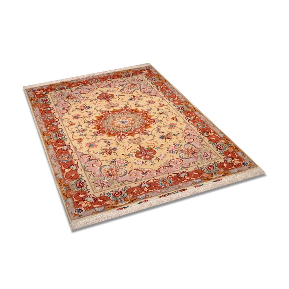 Size 3 X5 Tabriz Wool Rug Iran