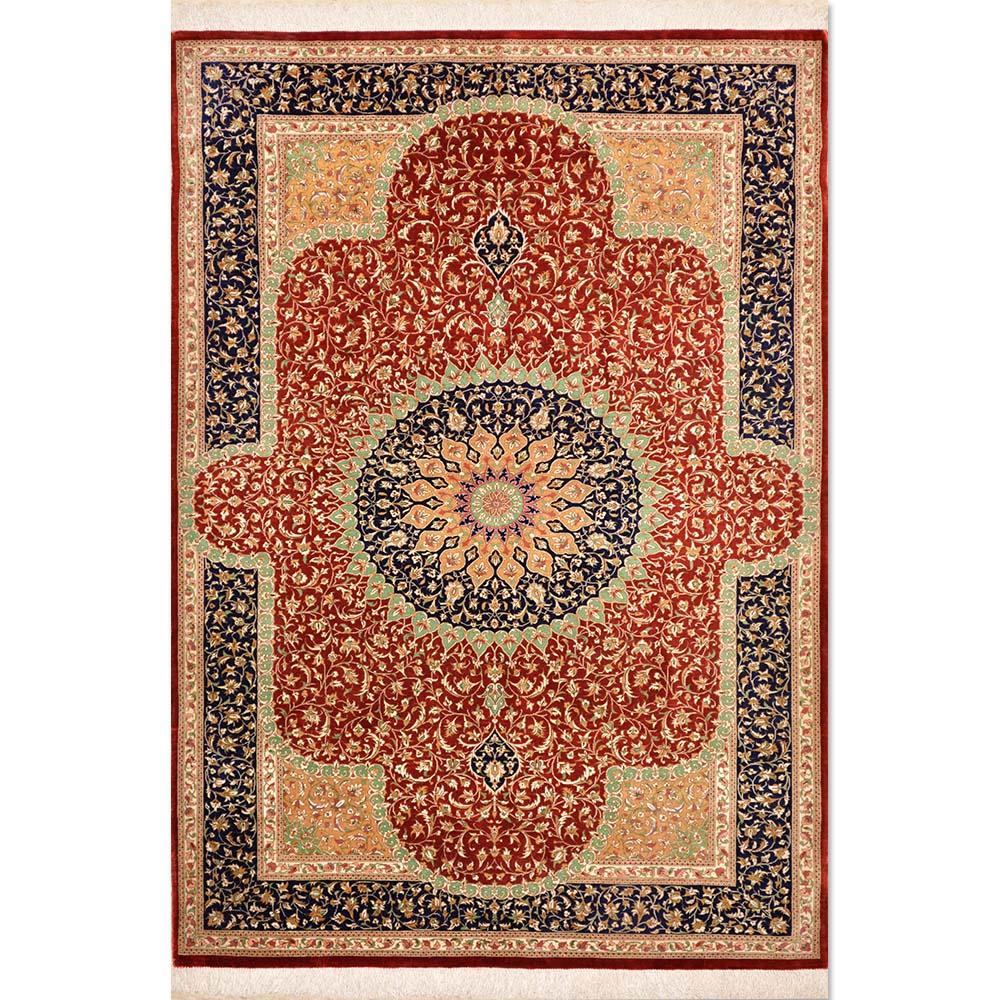 Size 3 5 Quot X5 Ghoum Silk Rug Iran