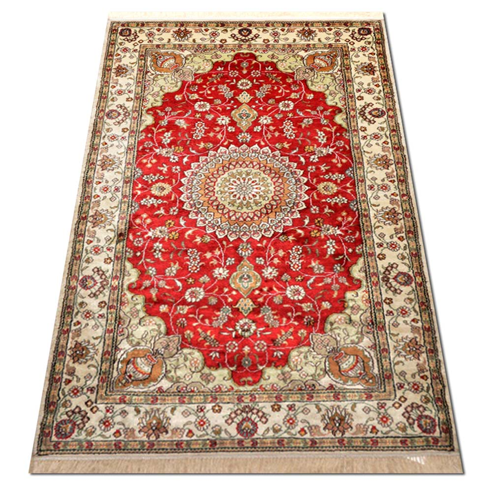 Size 3 X5 Art Silk Rug China