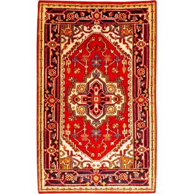 "Serapi Wool Rug(2' 7"" x 4' 2"" )"