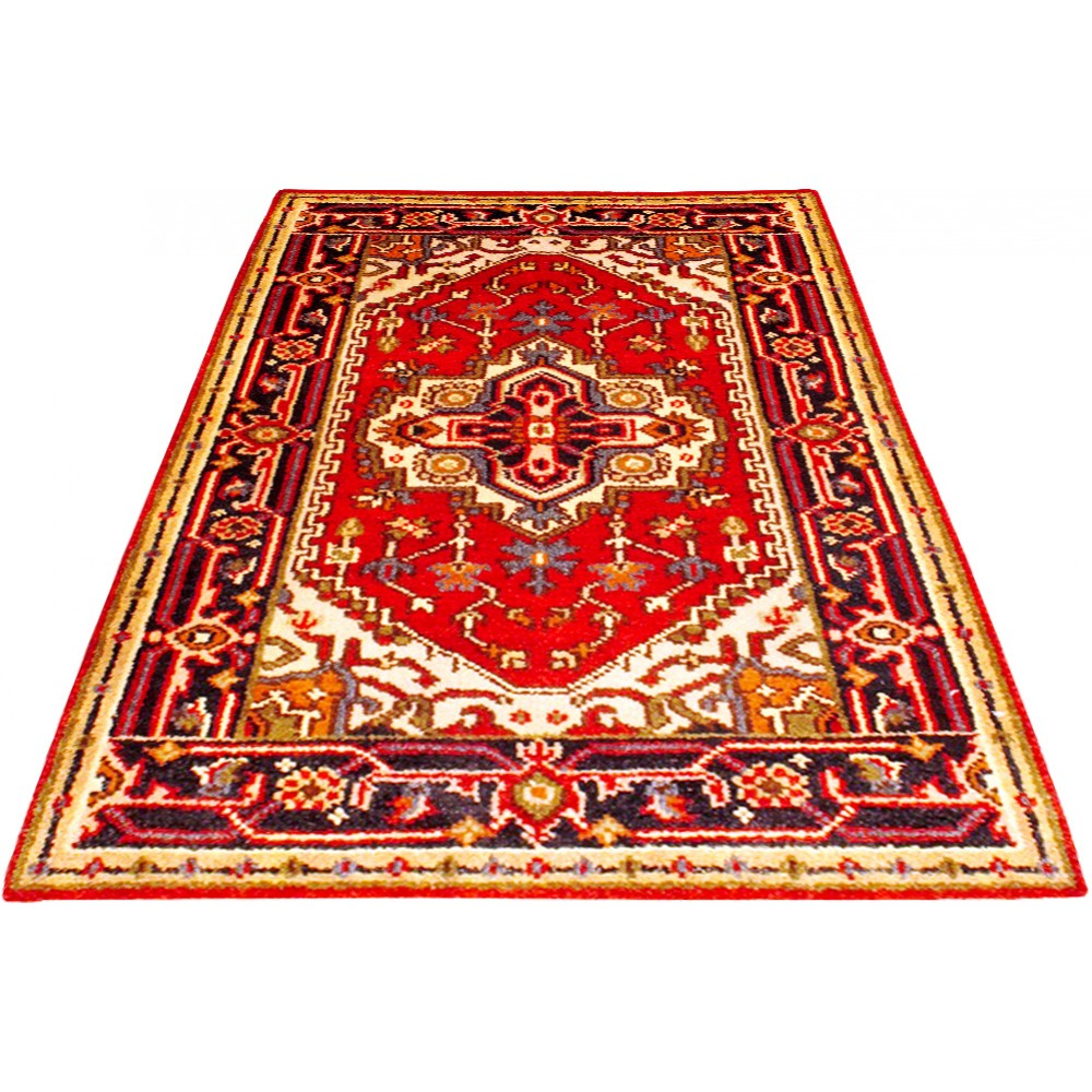 Size 2 7 X 4 2 Serapi Wool Rug From India