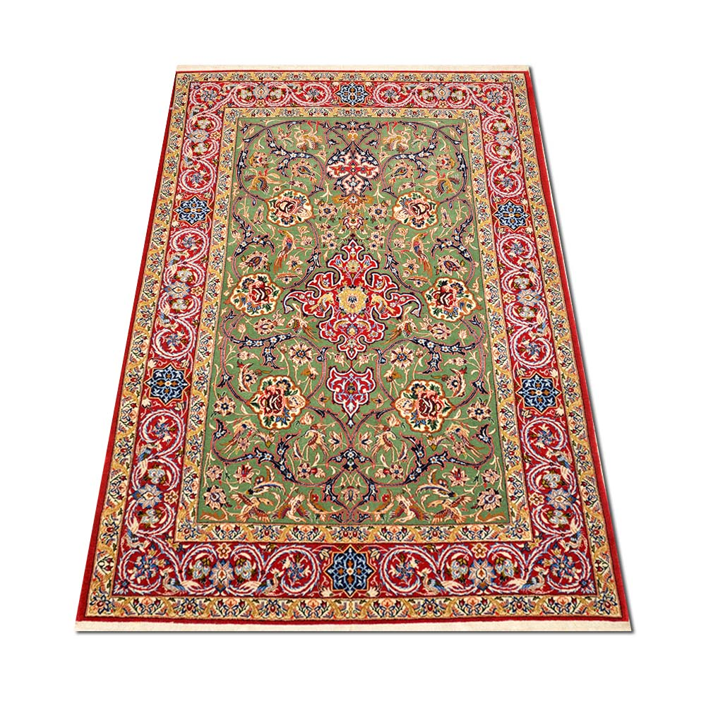 Size 3 8 Quot X5 8 Quot Isfahan Wool Rug Iran