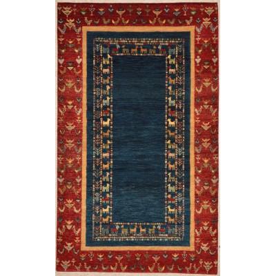 """Gabbeh Wool Rug 12-459 (3'0"""" x 5'0"""")"""