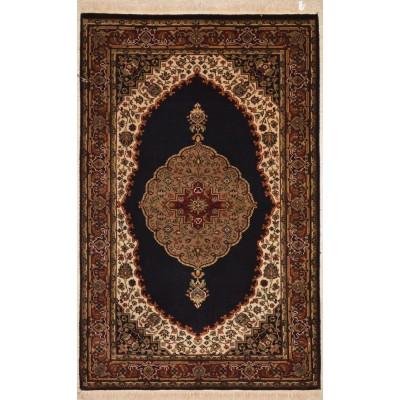 """Tabriz Wool Rug BK3021(3'2"""" x 4'10"""")"""