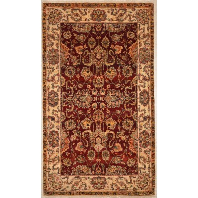 "Kashan Wool Rug BK3027 (3'1"" x 5'3"")"