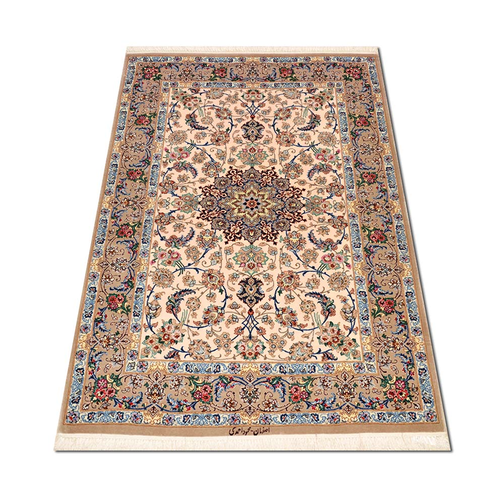 Size 3 6 X 5 3 Isfahan Rug From Iran