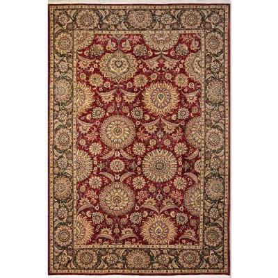 "SHAPUR Wool Rug BK5316 (5'9"" x 8'9"")"