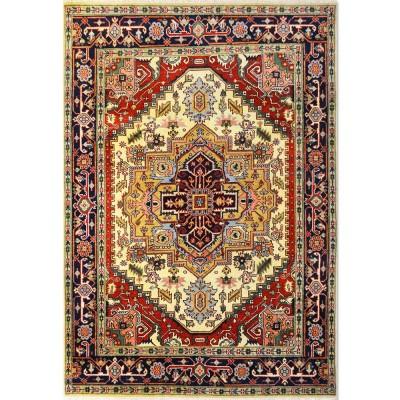 "HEREZ Wool Rug XS5007 (6'1"" x 8'9"")"
