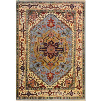 "HEREZ Wool Rug XS5009 (5'9"" x 8'5"")"