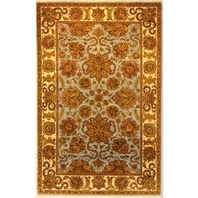"Kashan Wool Rug BK5044 (5'10"" x 9')"