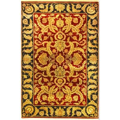 "Kashan Wool Rug BK5049 (5'11"" x 9'0"")"