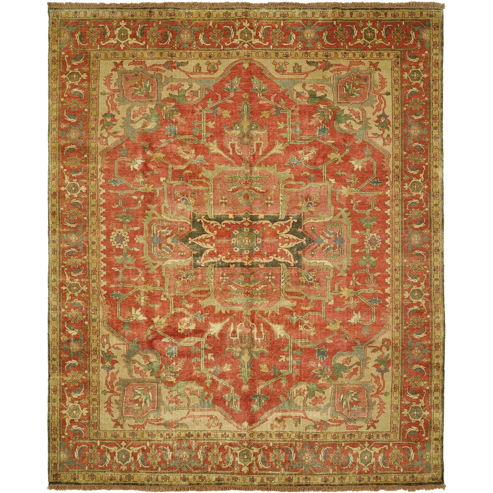 Size 4 0 Quot X6 0 Quot Serapi Collection Hand Knotted Wool Rug