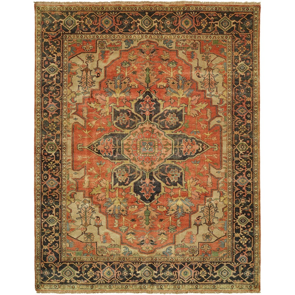 "Size 3'0""x5'0"" Serapi Collection Hand Knotted Wool Rug"