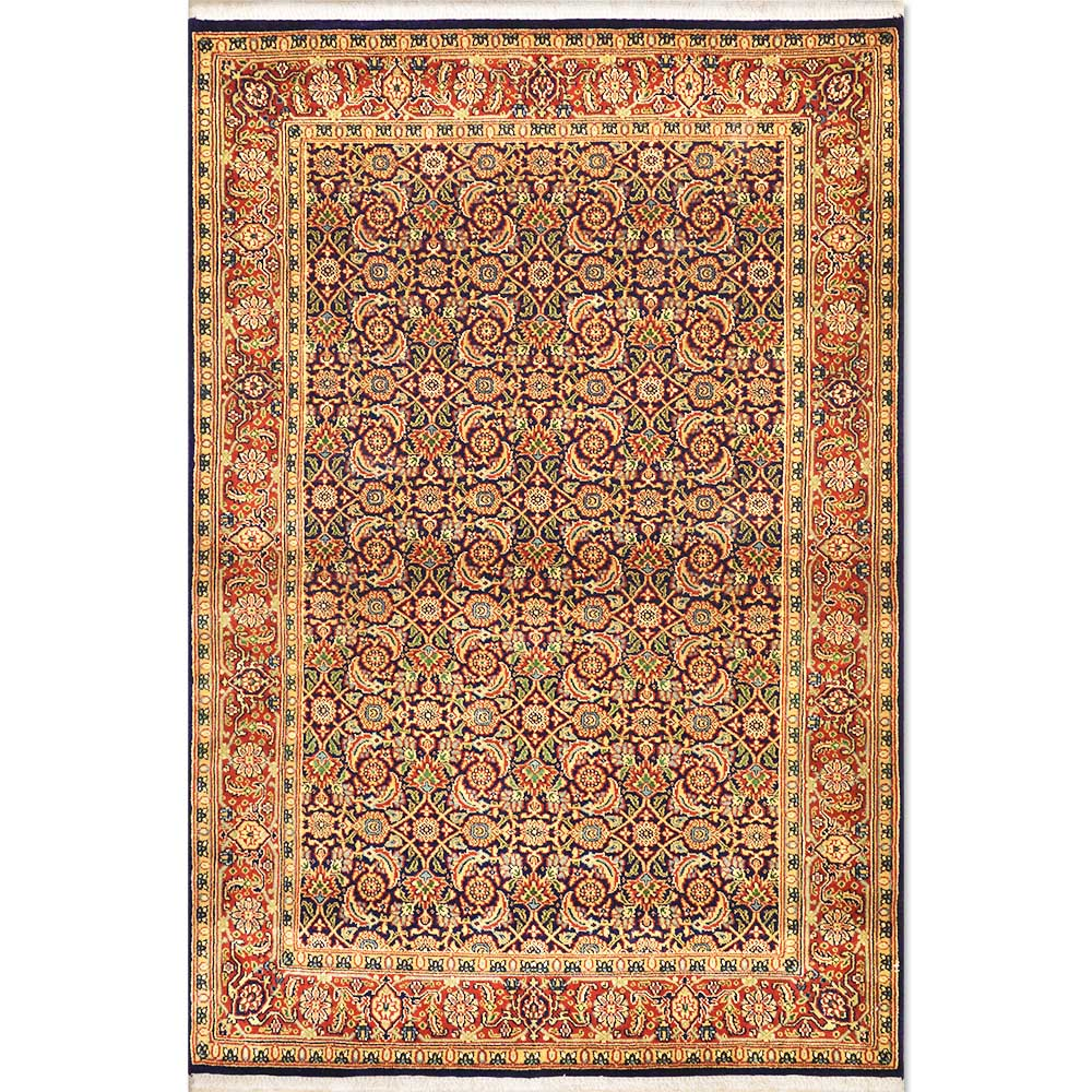 Size 4 2 Quot X 6 1 Quot Herati Wool Rug From India