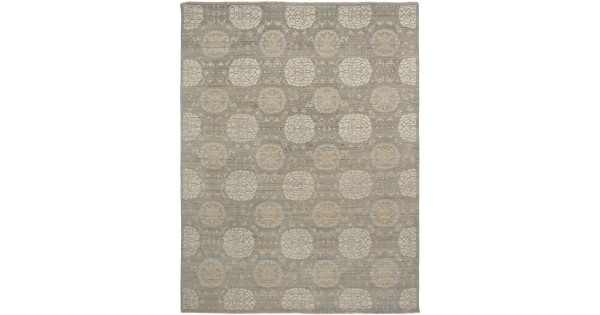 Size 2 X3 Modern Collections Hand Knotted Wool Rug From India