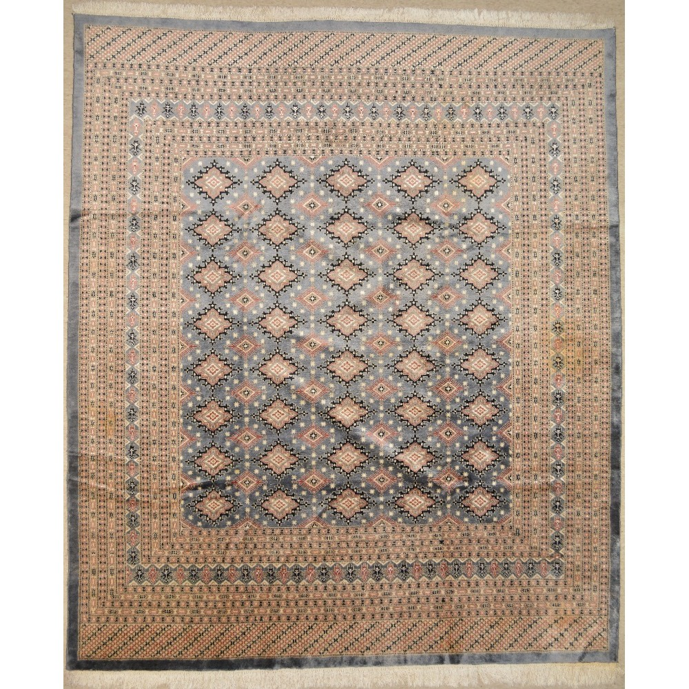 10 Ft Square All Over Wool Rug
