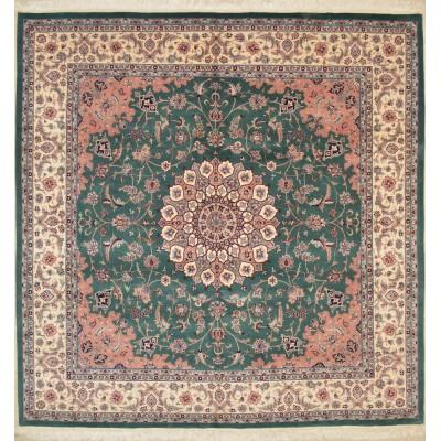 """Tabriz Wool Rug Jac1132 (8'4"""" x 8'3"""")"""