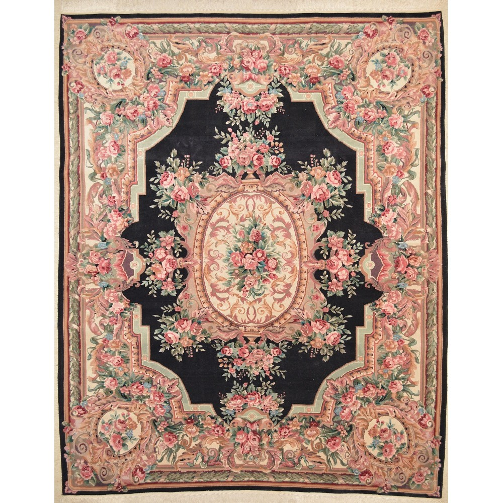Size 7 9 Quot X 9 9 Quot Aubusson Wool Rug From China